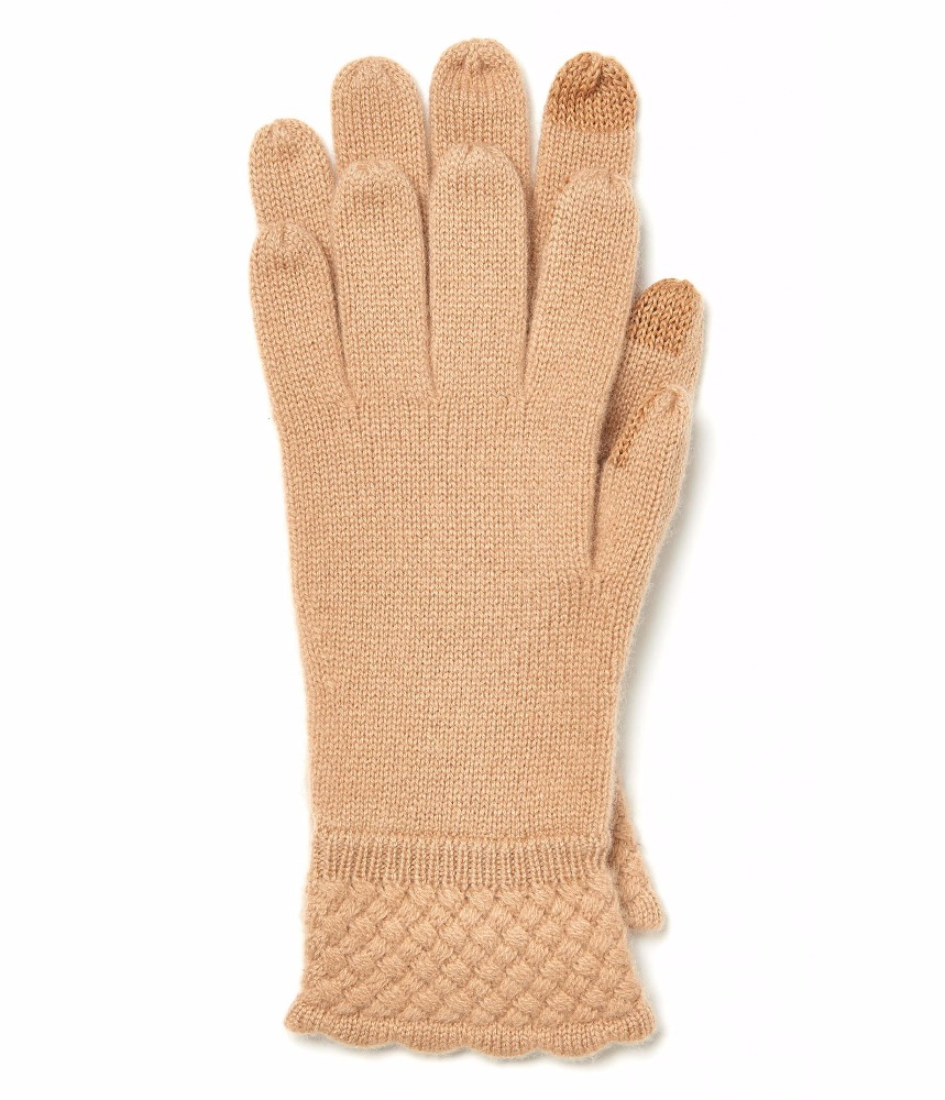 WOMEN'S 100% CASHMERE KNITTED GLOVE