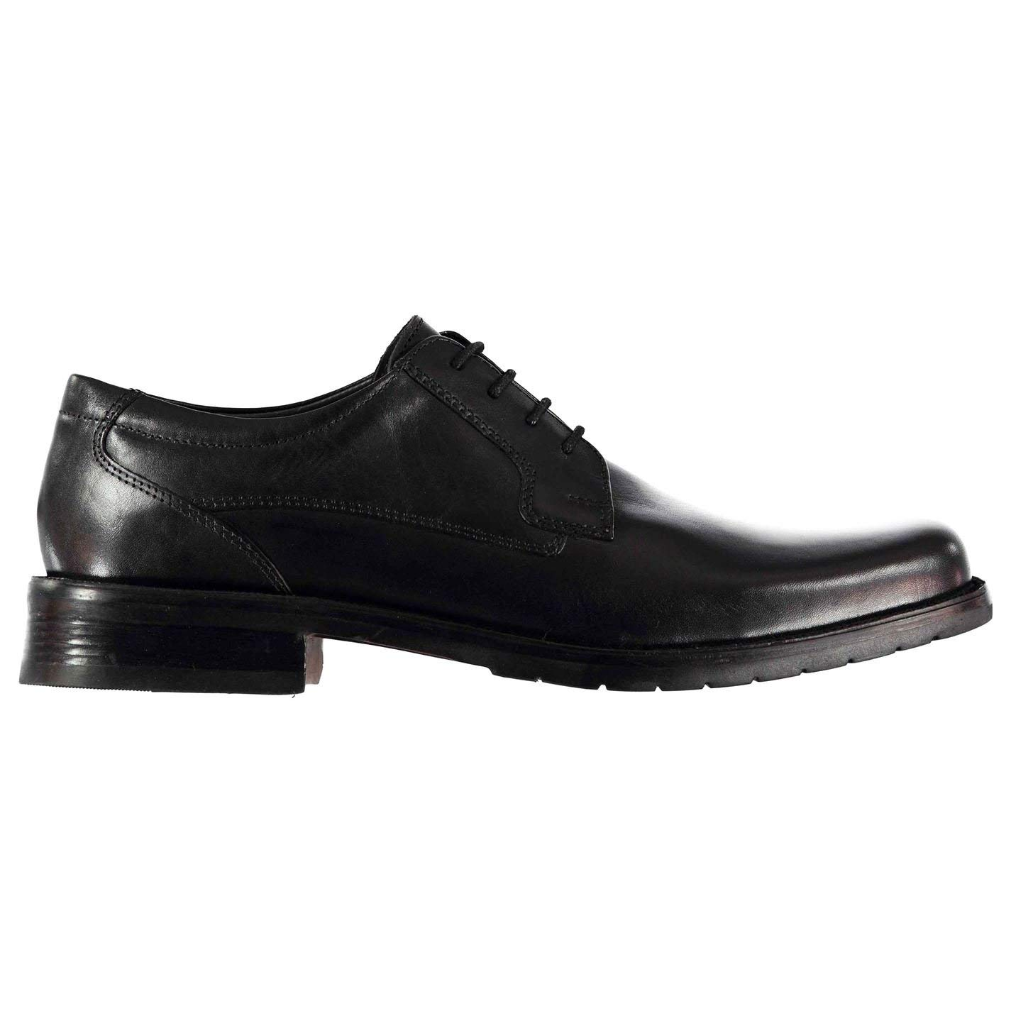 Kangol Mens Glinton Lace up Shoes Derby Slight Heel Formal
