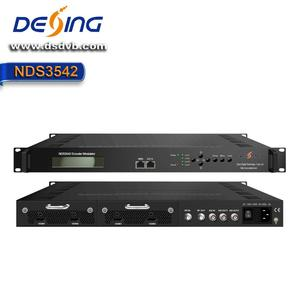 2 channel HD sdi to isdb-t modulator