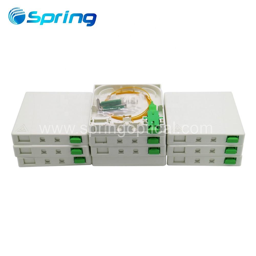 Caja terminal siesta 16 puertos de fibra óptica cable Caja de distribución FTTH Caja siesta 16 cables Cable