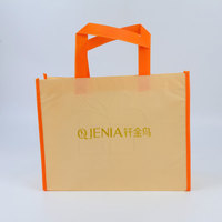 Brand Printing Laminated Non Woven Polypropylene Bags For Business Promotion
