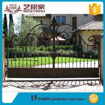 Yishujia Fabbrica Modelli Cancelli In Ferro Acciaio Casa Principale