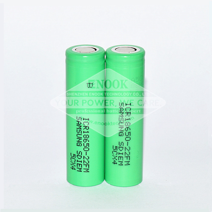 18650 rechargeable battery enook company samsung 22FM