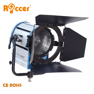 fresnel film 1000w video studio lighting