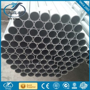 Brand new dc01 q195 hot dipped galvanized steel pipe made in China