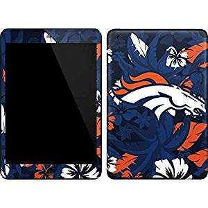 NFL Denver Broncos iPad Mini (1st & 2nd Gen) Skin - Denver Broncos Tropical Print Vinyl Decal Skin For Your iPad Mini (1st & 2nd Gen)