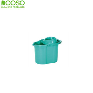 Squeegee double easy wring spin magic mop & bucket