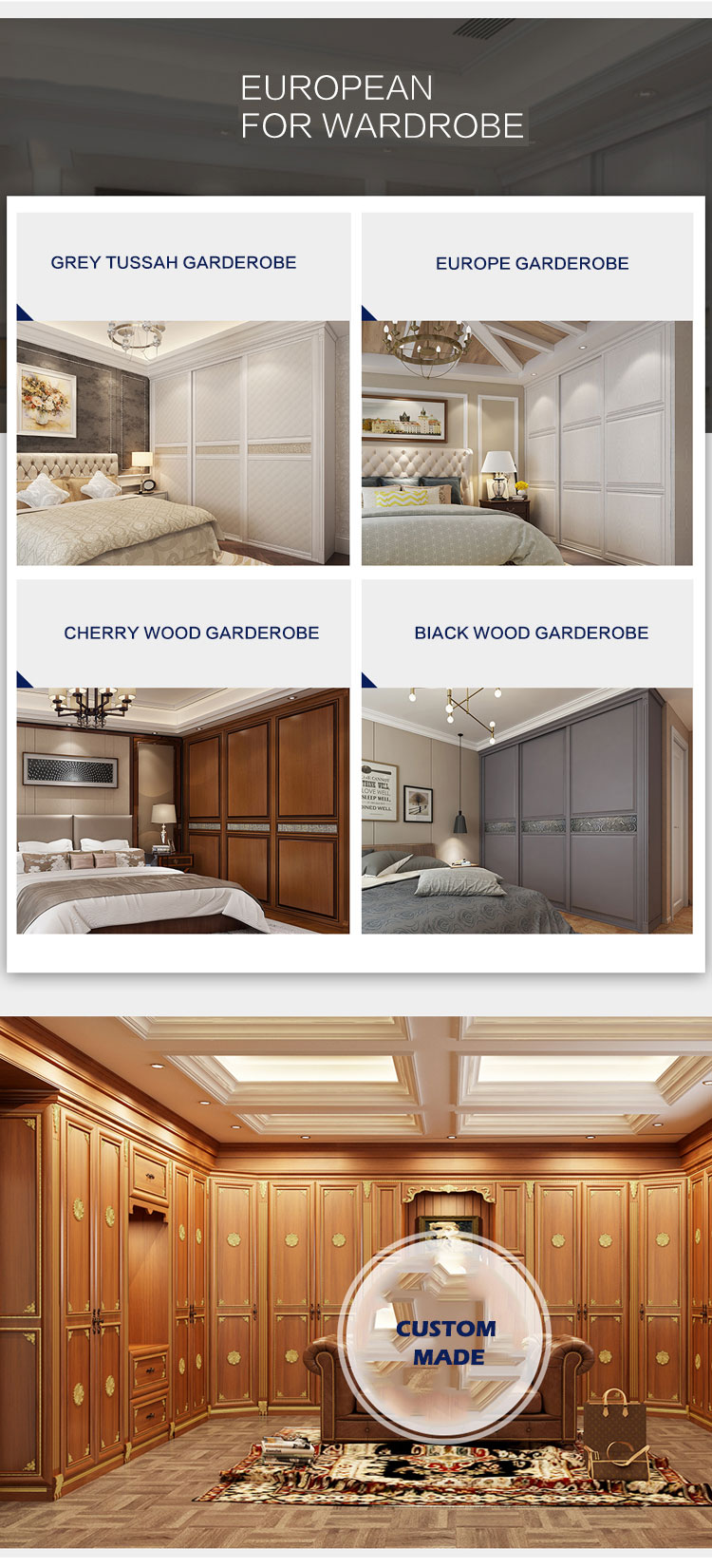 Foshan manufacturer bedroom furniture sets cheap price closet