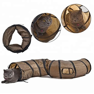 Free Sample Cheap Curved S Shape Cat Dog Play Tunnel Toys Tunnel Pet Tunnel