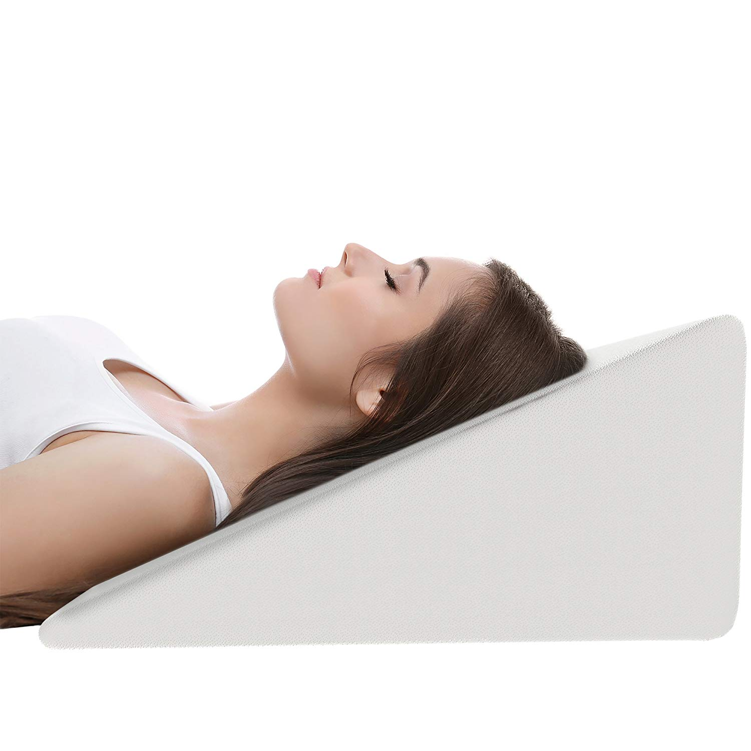 Buy Bed Wedge Pillow For Sleeping And Acid Reflux Firm