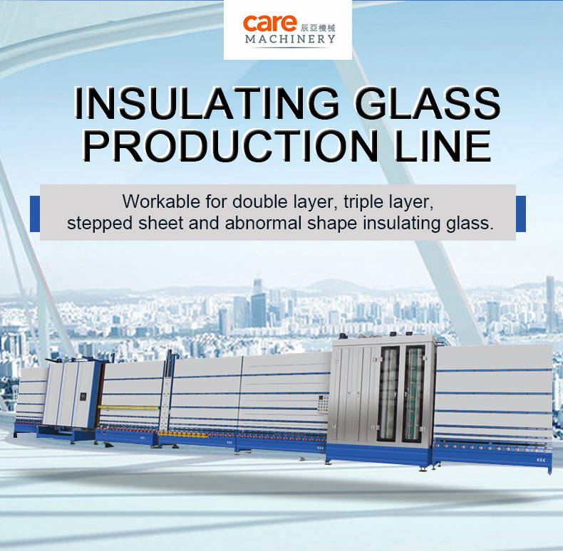 Low E Insulating Glass Processing Production Line