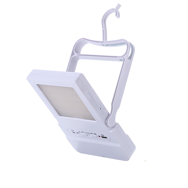 Plastic Reading Lamps Desk Lights Rechargeable Solar Study Lamp Indoor LED Solar Table Lamp