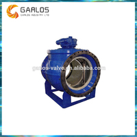 2PQ940H Industrial metal seal electric semi ball valve