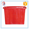2015 new products Plastic laundry trolley with wheels 200liter