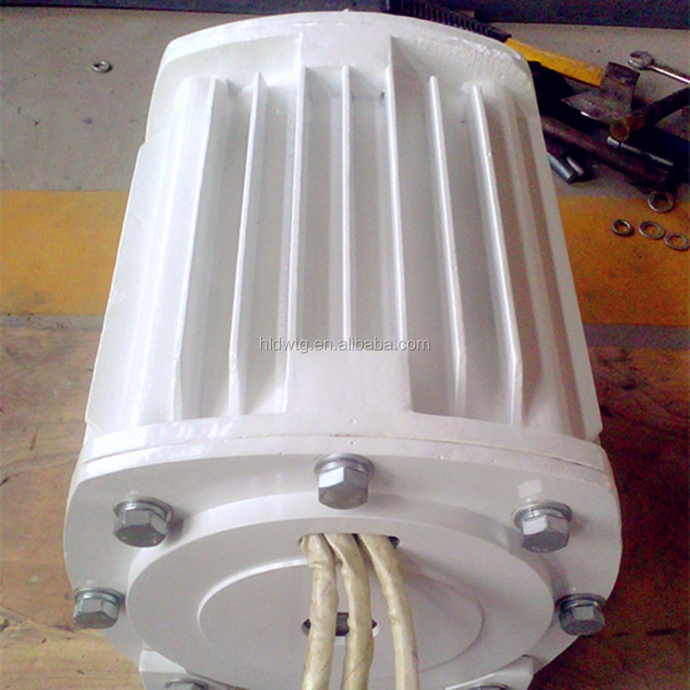 HLD! Low speed 3 phase alternator 5000W permanent magnet generator 5kw with 220rpm