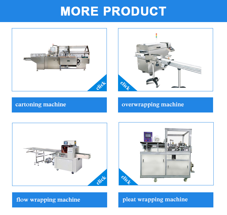 New machine for small business carton box packaging cartoner used in medical industries automatic International Factory