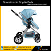 alloy big wheel baby stroller, good view stroller for 0-3 year old