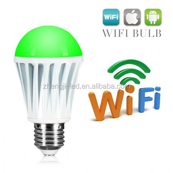 Double Dimmer Switch Control Led Bulb Lamp E27 Smart Wifi Led Bulb ...