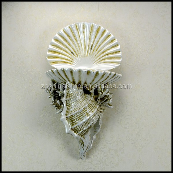 High Quality Resin Shell Wall Relief Sculpture With Best Quality And Low Price For Agate Home Decor And Hotel Wall Decor