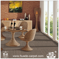 Customized Rubber Backed Pictures of PVC Carpet Tiles for Floor