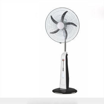 18inch rechargeable stand FAN with remote solar charge