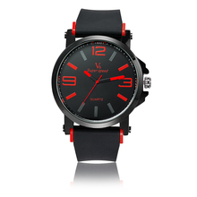 Aliexpress hot selling TOP brand V6 men women wrist watch hand clock sport watch with silicone strap