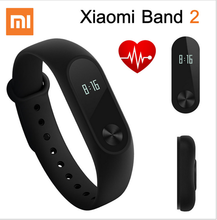 Heart Rate Fitness Monitor Smart Bracelet OLED Display Xiaomi Mi Band 2