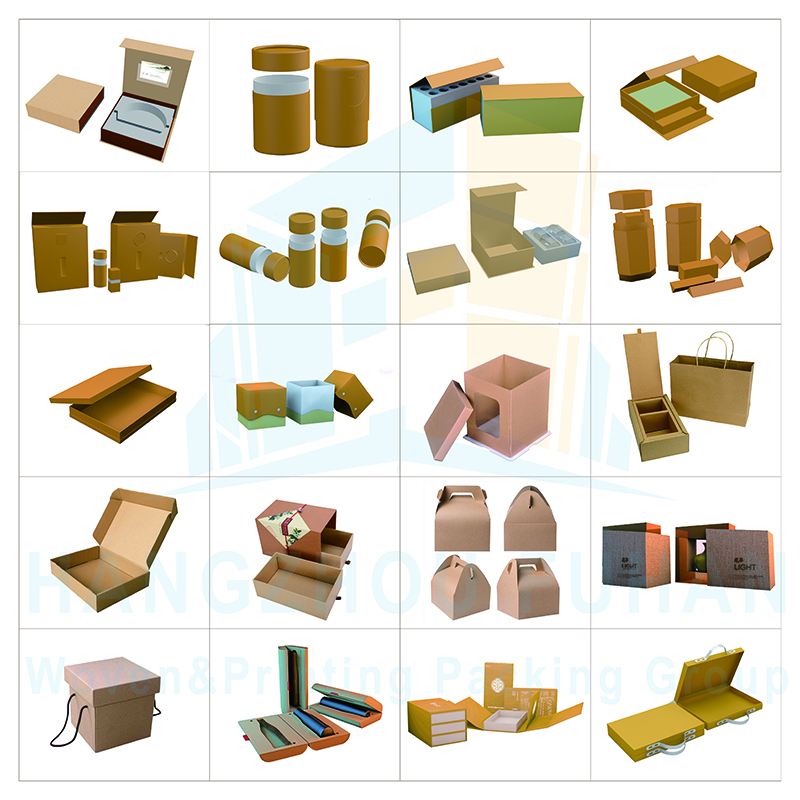 High Quality Various Paper Cardboard Box for Packaging