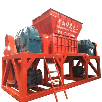 High quality plastic recycle shredder machine with factory price