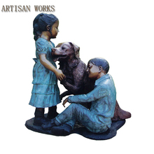 Wholesale Life Size Bronze Children Sculpture
