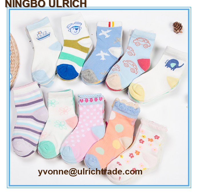 B01cotton knitted soft touch cheap baby socks wholesale