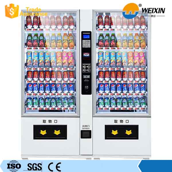 Felixible Outdoor Coin Operated Sandwich Vending Machine For Public Area