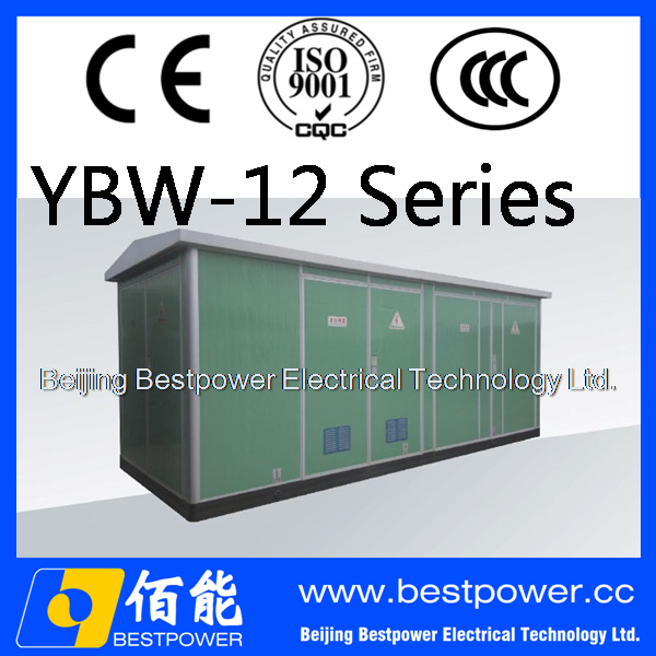 YBW-12 series prefabricated compact packaged portable subsation