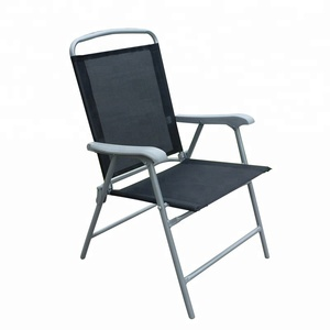 Wholesale Factory Wear-Resistant Four Seasons Smooth Surface Outdoor Lounge Chair Metal Chair Garden Chair