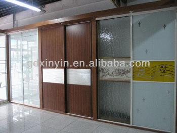 Ly serie hs nuevo modelo de aluminio perfil para armario puerta corredera buy perfil de - Perfiles de aluminio para armarios ...