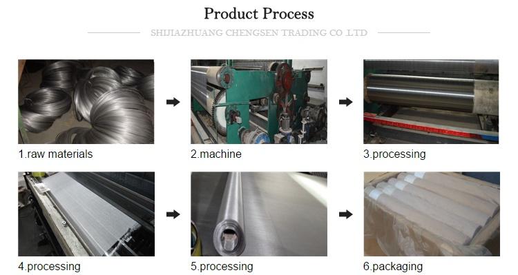 100mesh 200mesh 400mesh Stainless Steel Screen Filter