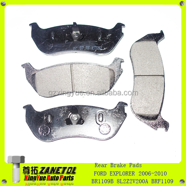 Front Rear Brake Pads for Honda Sportrax  TRX300EX TRX 300EX 2001 2002 2003 2004