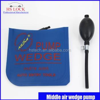 Klom Air Pump Wedge Locksmith Tools Lock Pick Set Door Lock Opener
