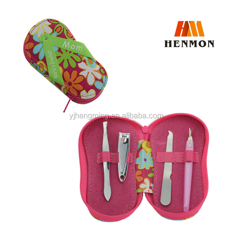 HM-M014 5pcs Shoes shape cute manicure set