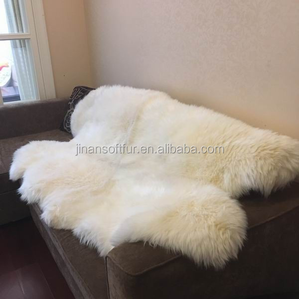 Home Window Rug Genuine Sheepskin animal fur Wholesale