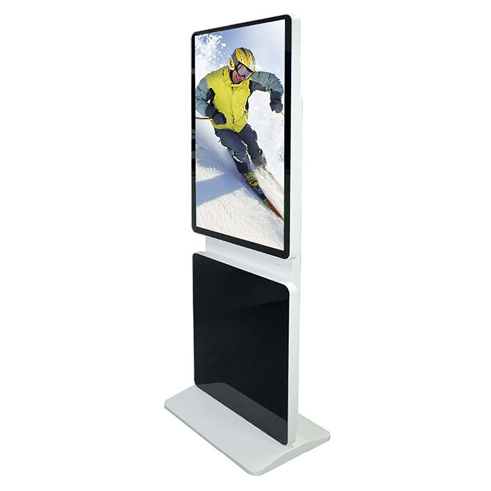32 inch floor stand rotate indoor/outdoor touch media lcd advertising display kiosk made in China