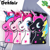 For iPhone 7 6S Case 3D Colorful Unicorn Case Horse Cute Cartoon Silicon Soft Phone Case For iPhone 5 5S 6Plus 7 Plus Cover Capa