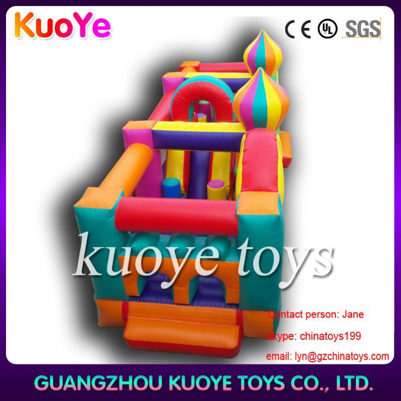 indoor obstacle inflatable water toy obstacle course