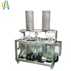 Double station manual beer barrel keg washer washing machine
