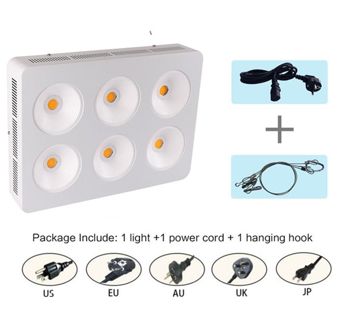 Haute ppfd LED élèvent la lumière COB LED élèvent le plein spectre léger 200 w LED élèvent la lumière