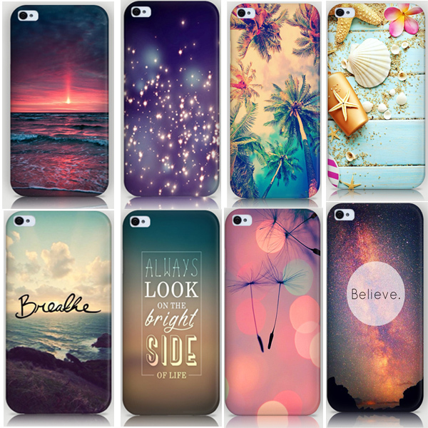 best service 3f66b 2869f 2015 Nice Scenery Printing Back Cover Cell Phone Case For Iphone5c Mobile  Phone Hard Cases Bags For Iphone 5c Cover Cases