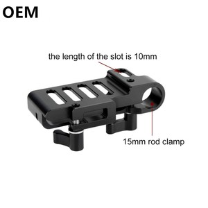 OEM  Mount for  T5 SSD DSLR Camera Cage Rig T5 SSD Holder for BMPCC 4K Blackmagic Cinema Camera 4K Camera Rig Alloy