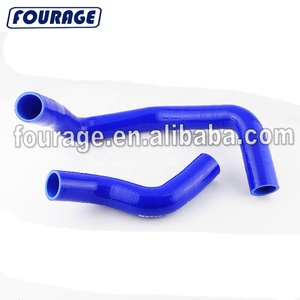 Reinforced High Performance Rubber Silicone lining Tubing Hose Kits for NISSAN SKYLINE GTR R33 (RB26 / rb25 DET)