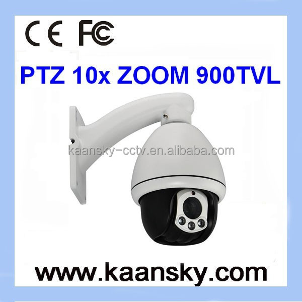 2015 high speed dome camera PTZ Zoom 10x camera 900 tvl