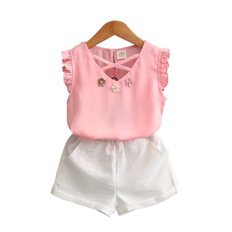 Summer season baby girl clothes new fashion beautiful children clothes фото